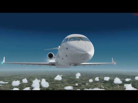 FULLY LOADED CRJ Pt 3  - CLEARED TO LAND
