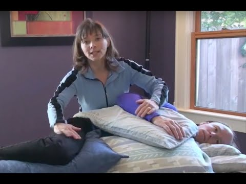 Pillow Positioning to Reduce Shoulder and Back Pain