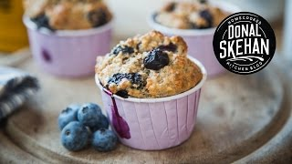 Blueberry Chia Seed Muffins!