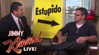 Download Guillermo Crashes Matt Damon Interview Mp3 and Videos
