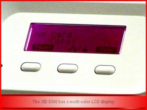EDIsecure® XID 8300 - Color-Coded LCD for Status Monitoring