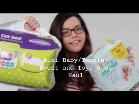 aldi baby toddler event and toys r us haul feb 2015. Black Bedroom Furniture Sets. Home Design Ideas