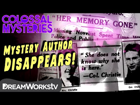 Mystery Author DISAPPEARS?! | COLOSSAL MYSTERIES