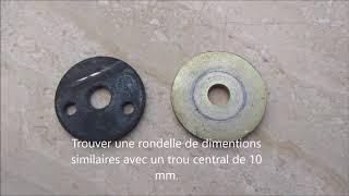 Une rondelle pour eviter des vibration moteur Renault