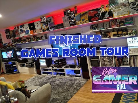 Huge Latest Games Room Tour Australia Updated Changes | Retro Gamer Girl