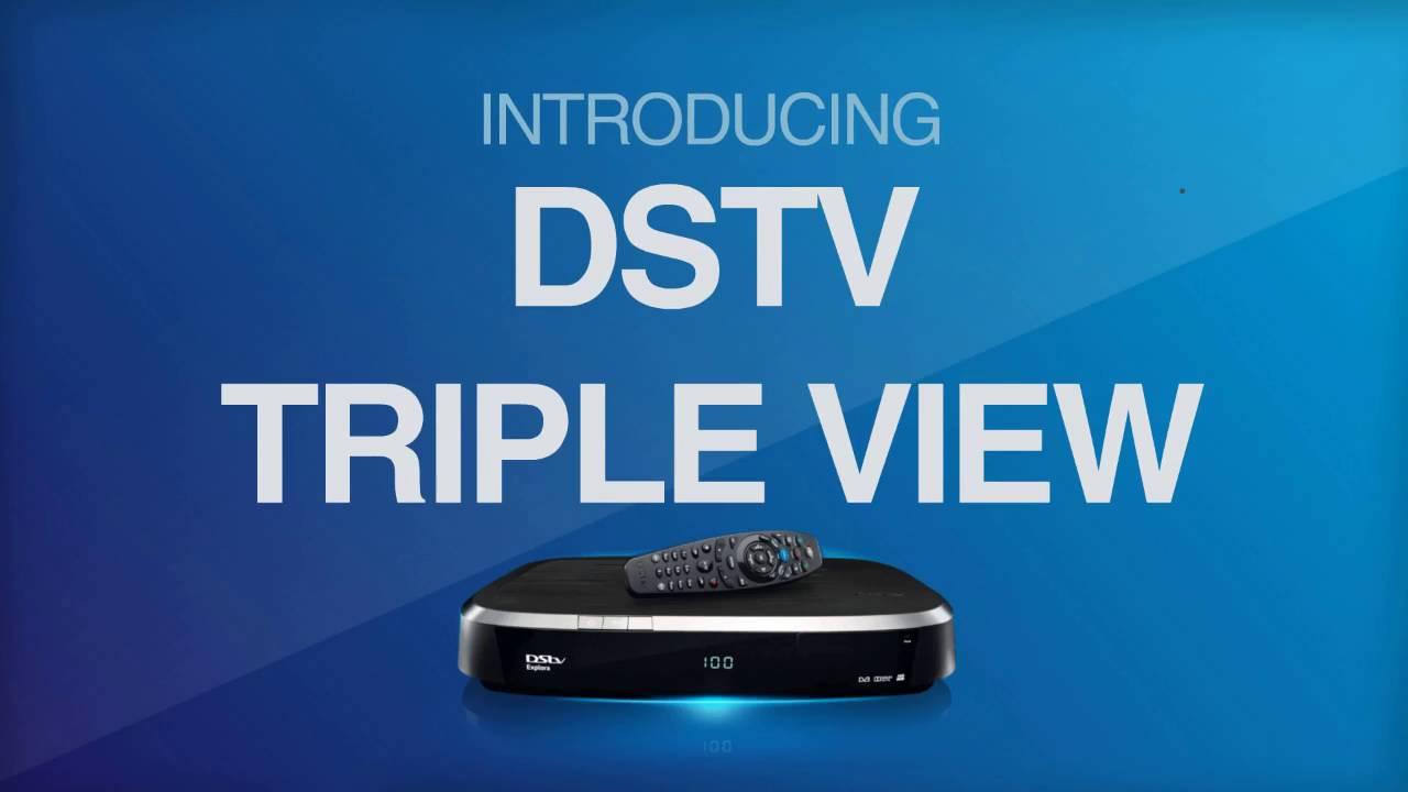 dstv triple view