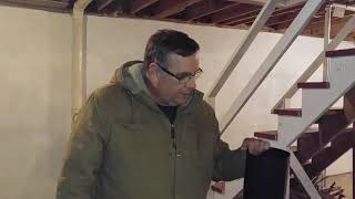 Wood Stove Install 3 Part 3 Adjust - Cut - Stove Pipe Length Howto DIY