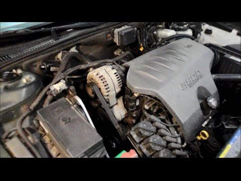 how to install a drive belt on a buick youtube how to install a drive belt on a buick