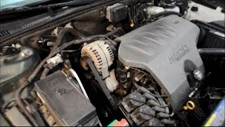 How to install a drive belt on a Buick