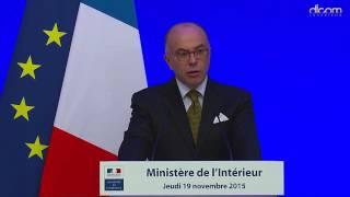 Déclaration de M. Bernard CAZENEUVE du 19 novembre 2015