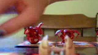 our Bakugan collection/ learning