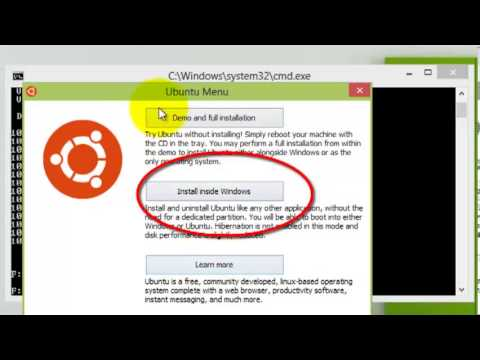 How To Install Ubuntu Inside Windows 7/8