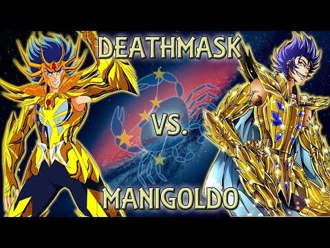 Vamos a hablar de Saint Seiya - Deathmask vs. Manigoldo | ESPECIAL