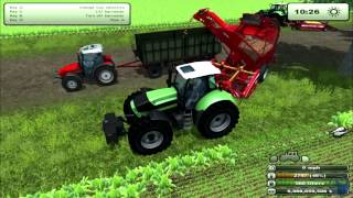 Farming Simulator 2013: How to farm. Potatoes & Sugar Beets. (Tutorial. 8/9)(How to buy and setup your Potatoes & Sugar Beets. My facebook: http://www.facebook.com/pages/Wolfy-Channel/107841779300749?ref=hl Twitter ..., 2013-03-02T02:22:21.000Z)