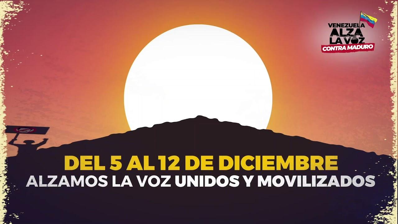 ¡Vamos a las calles por Venezuela!