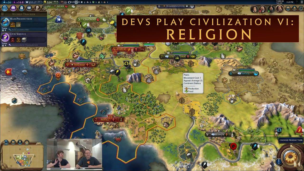 Civilization VI' Found Religion, So I Responded With