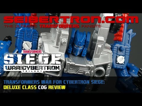 Transformers War for Cybertron Siege COG Deluxe Class review from Seibertron.com