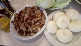 СОЛЯНКА С КАПУСТОЙ И  ГРИБАМИ (очень вкусный рецепт)