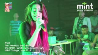 Repeat youtube video Atat -Ron Henley ft. Bea Valera (live performance at MINT Acquaintance Party)