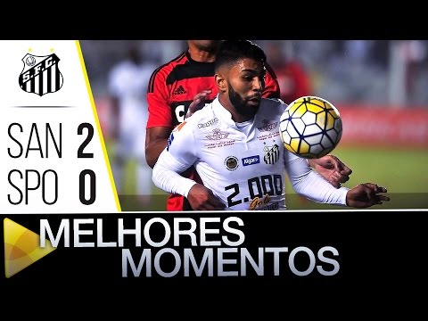 Santos 2 x 0 Sport | MELHORES MOMENTOS | Brasileirão (15/06/16)
