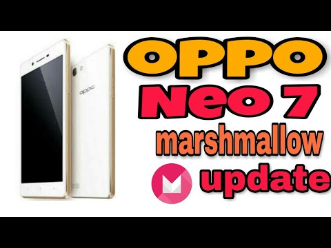 Oppo Neo 7 Marshmallow android 6 0 update