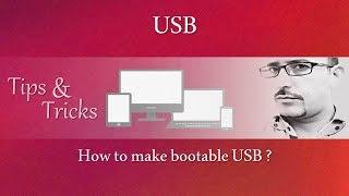 USB Önyükleme yapmak için Nasıl #01 İpuçları? | AV EduTech