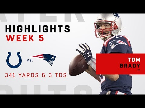 Tom Brady's Big Night w/ 341 Yards, 3 TDs & 500 Career TD Passes!