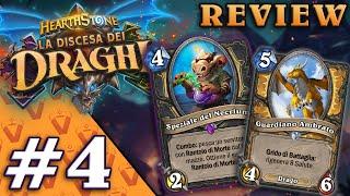 LA DISCESA DEI DRAGHI! Analisi Nuove Carte #4   Hearthstone Ita