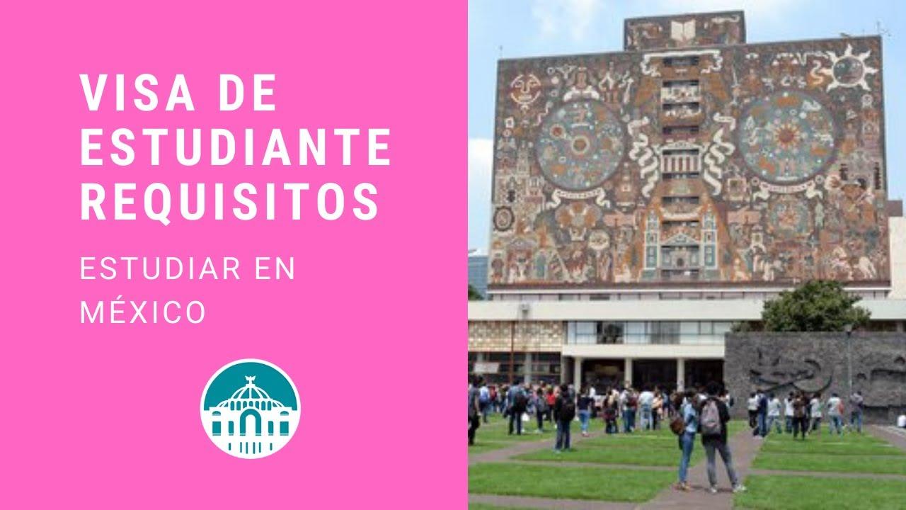 ¿Como obtener la Visa de Estudiante  en México? 👨🏻🎓👩🏻🎓Residencia Temporal de Estudiante 📚