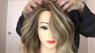 Blonde Foilyage (Balayage) | Technique for beginners.