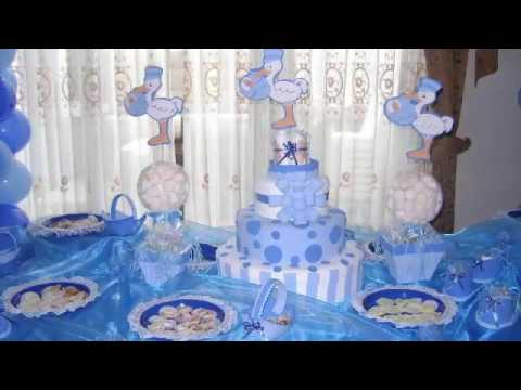 Decoracion De Mesa Baby Shower Youtube