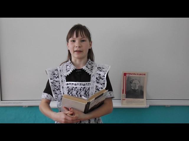 Изображение предпросмотра прочтения – ТамараКузнецова читает произведение «Есть в осени первоначальной...» Ф.И.Тютчева