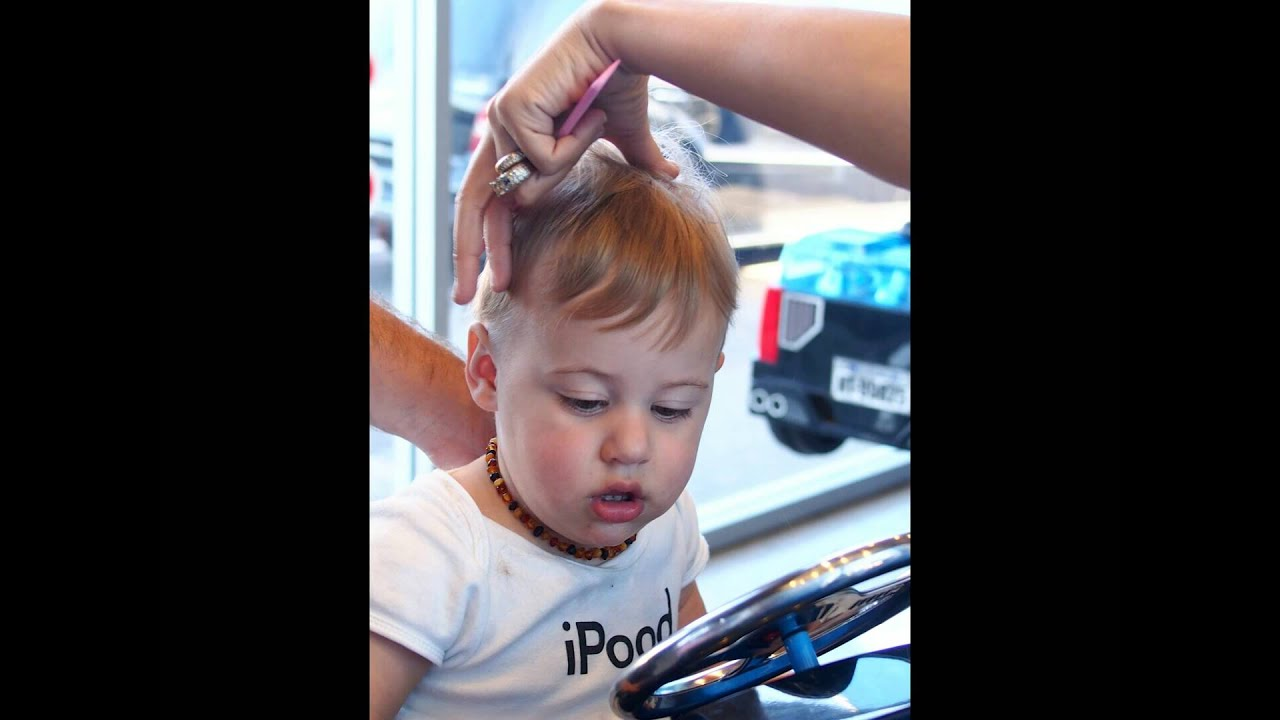 Kids First Haircut I Look My Style