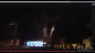 Kemeriahan Kembang Api  di Closing Ceremony Asian Para Games 2018