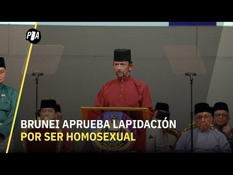 Brunei aprueba lapidación por ser homosexual
