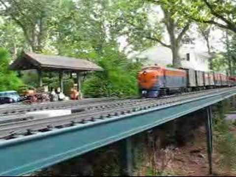 West Berlin Garden Railroad