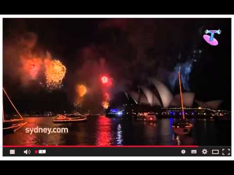 2013 Sydney NYE Firework