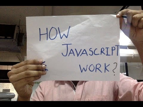 How Javascript Works - let's Understand in a Quick Talk