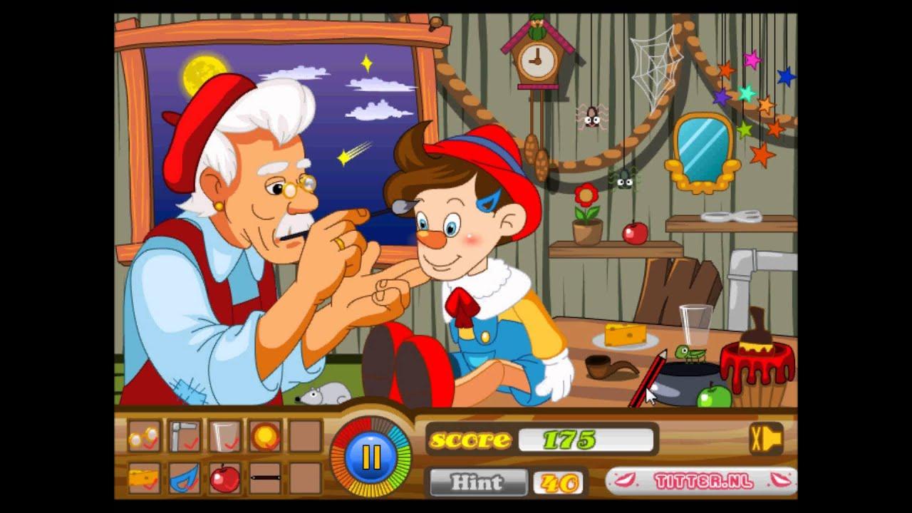 Pinocchio Game