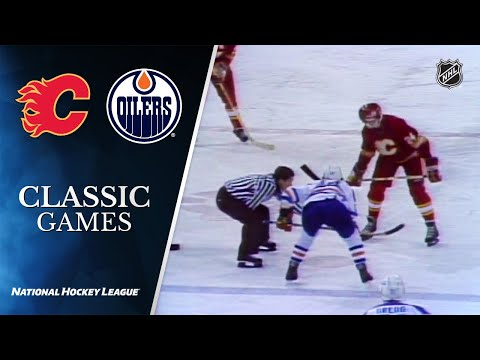 NHL Classic Games: 1983 Flames Vs. Oilers - Division Final, Gm 5