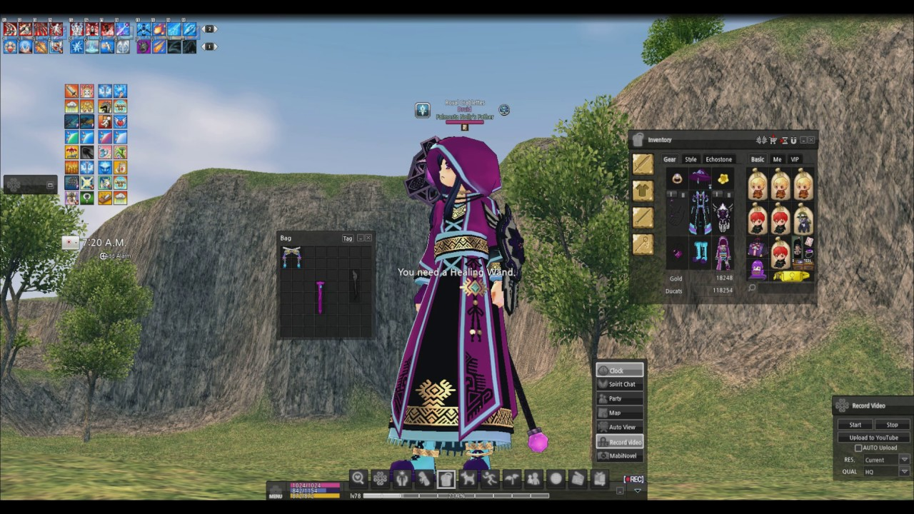 Mabinogi auto synthesis southworth paper watermarked