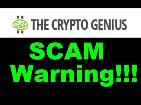 The Crypto Genius Review - Complete SCAM EXPOSED (Dont Waste your Money)