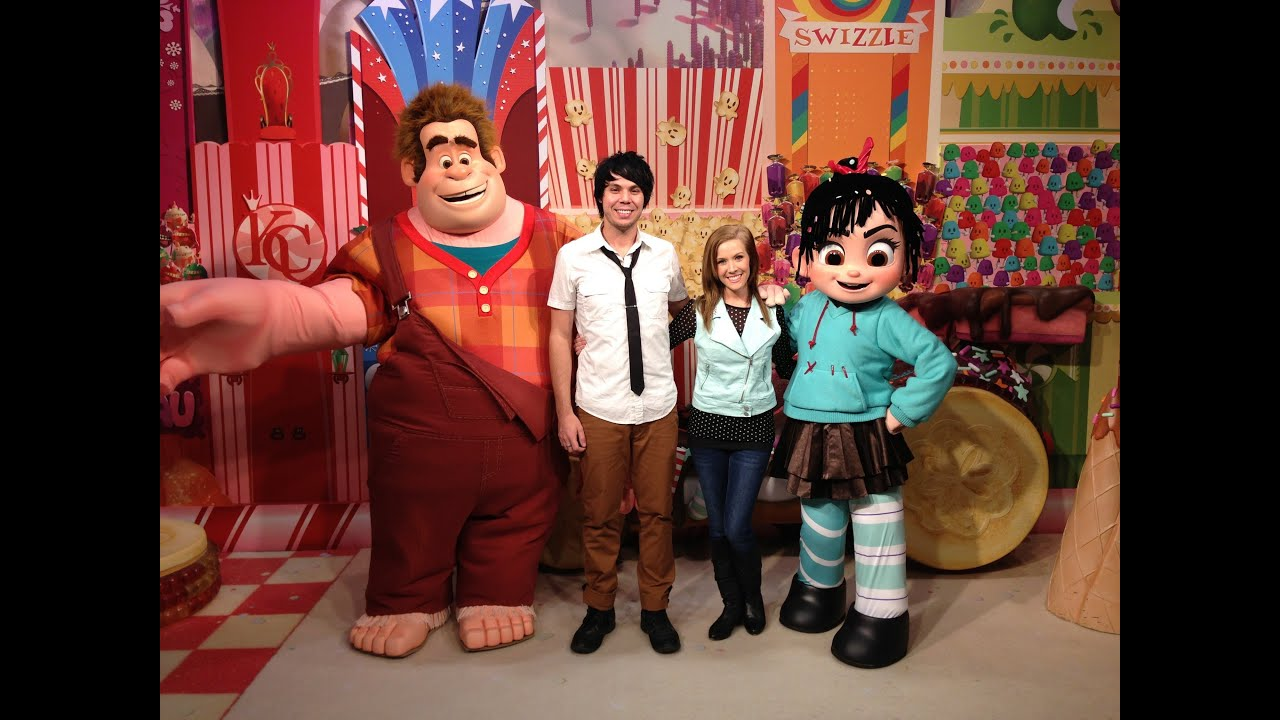 Wreck it ralph and hollywood studios youtube wreck it ralph and hollywood studios kristyandbryce Choice Image