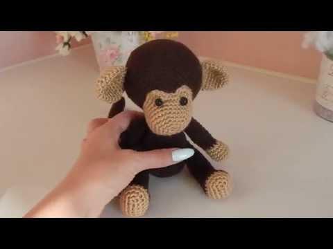вязаная спицами обезьянка своими руками на новый год