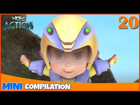 Vir The Robot Boy | Mini Series | Compilation - 20 | 3D Cartoon For Kids | WowKidz Action