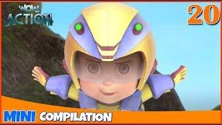 Vir The Robot Boy | Mini series | Compilation - 20 | 3D cartoon for kids | WowKidz Action