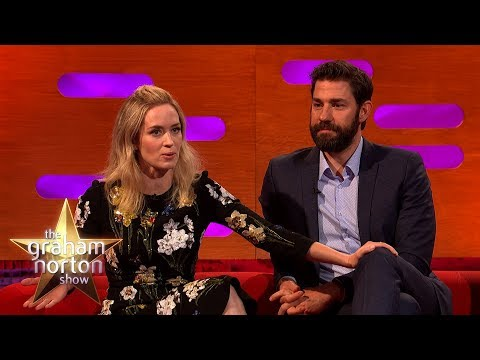 John Krasinski Stalked Emily Blunt  The Graham Norton