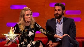 John Krasinski Stalked Emily Blunt | The Graham Norton Show