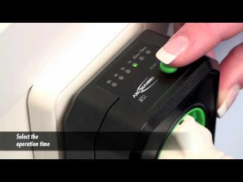 ANSMANN ZeroWatt AES1 energy saving countdown mains timer
