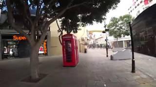 Walking Through Gibraltar Towards The OLD TOWN: Gibraltar Travel Vlog